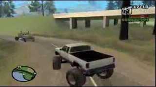 GTA SA Monster Truck Location