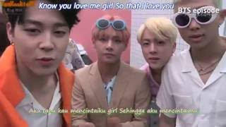 BTS Rap Monster and Jungkook   I Know 알아요  Indo Sub