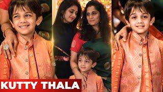 OMG 😍:Thala Ajith Son Aadvik's Cute Candid's   Shalini Ajithkumar   Valimai   Tamil Cinema News