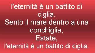 Estate - Lorenzo Jovanotti Cherubini (Lyric Music)