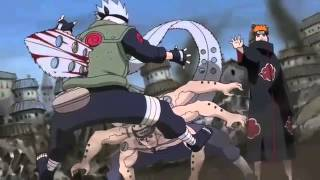 Kakashi vs Pain Faint Linkin Park