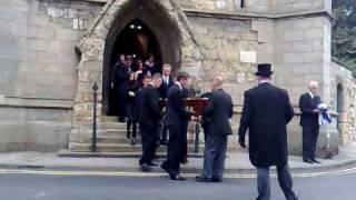 Jamie Kyne's funeral