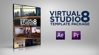 After Effects & Premiere Pro Template Virtual Studio 8 | Bluefx