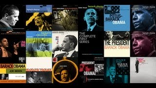 Barack Obama's Jazz - The album covers. Blue Note Records