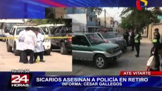 Ate: sicario asesina a policía en retiro delante de su hija