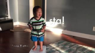 """""""Let It Go"""" by two-year old boy"""