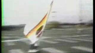 Landsailing Skateboard with Michael in 1985