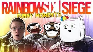 WORST PROFESSIONALS EVER! - Rainbow Six Siege BETA