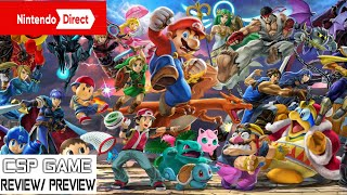 Nintendo Direct Highlights presents SSBU Update Ver. 3.0 is coming + new amiibos release this year