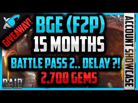 15 Months F2P Progress !! | Champions, FW, UNM CB !? | 2,700 Gems Giveway !! | RAID: Shadow Legends