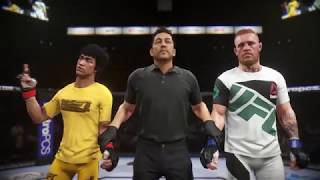 UFC 2 - Bruce Lee vs. Conor McGregor - AMAZING KNOCKOUT!