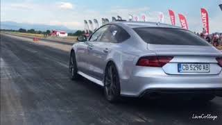 Audi RS7 4.0 TFSI 9.969 1/4 mile First in the Wolrd 9 sec. 4.0 TFSI
