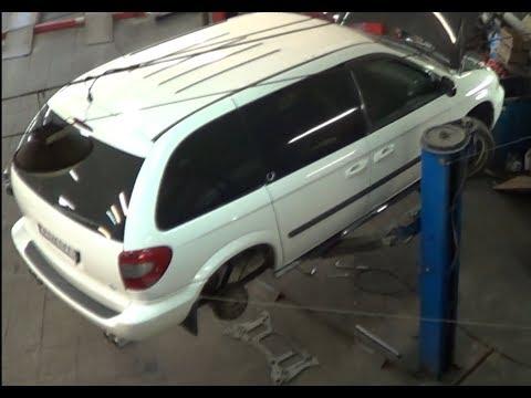 Dodge caravan V6 3.3L Sport Van:Посещение сервиса/тормоза/передняя подвеска/Супротек