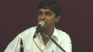 Ghazal - Uday Shah - sitam karate hai jo hum par unhen kah do thahar jayen.wmv