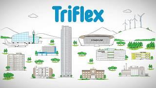 Triflex หลังคากรีนรูฟ (Green roof)