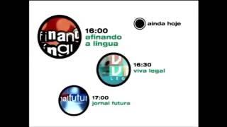 Vinheta Ainda Hoje | Canal Futura