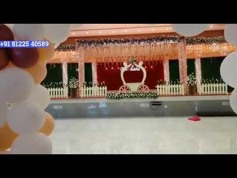 Wedding Decoration +91 81225 40589 Chennai | Bangalore | Andhra | Hyderabad | Pondicherry