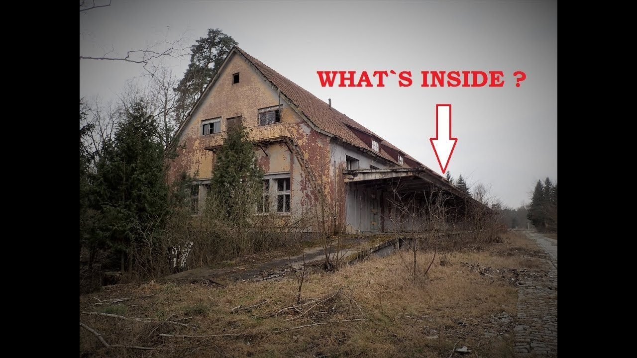 Secret German WW2 Factory - What a Location !