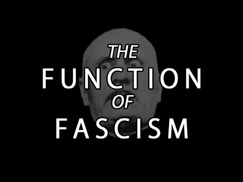 The Function Of Fascism