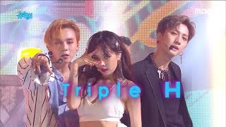 [Comeback Stage]Triple H -  RETRO FUTURE , 트리플 H - RETRO FUTURE Show Music core 20180721