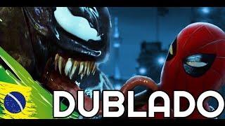 VENOM vs Spider-man - EPIC Fight Scene [DUBLADO PT-BR] - Tom Hardy vs Tom Holland