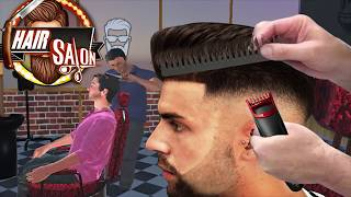 Barber Shop Hair Salon Cut Hair Cutting Games 3D