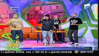 C.I.A. - Ba Esti Nebun ( Live Antena 1 : Neatza cu Razvan & Dani)