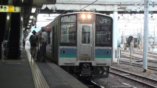 【JR東】篠ノ井線 普通長野行 松本 Japan Nagano JR Shinonoi Line Trains