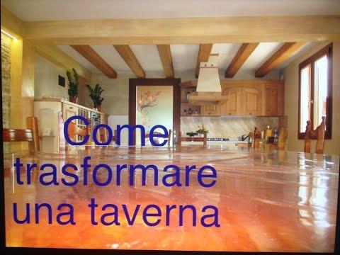 Come trasformare la tua cantina in una taverna tutto per for Piani di casa rustici con cantina