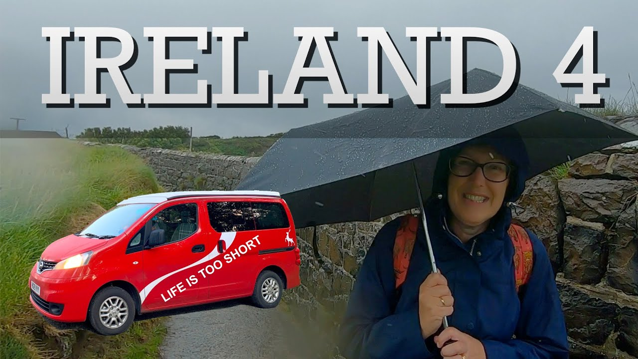 Driving a Camper Van around Ireland – 4 : The Titanic Museum, Belfast Castle, Carrickfergus, Whitehead