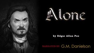 """""""Alone"""" by Edgar Allan Poe - Old Time style radio, Vincent Price poem reading"""