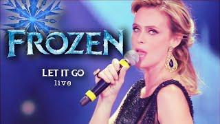 """Serena Autieri (Italian Elsa) Performing """"Let it go"""" Live"""