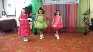 California Kisses Beauty Pageant ~ Tropical Splash 2012: 6 To 7 Years