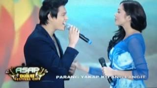 "JULQUEN ""YAKAP"" SONG IN ASAP DUBAI 02-02-2014"