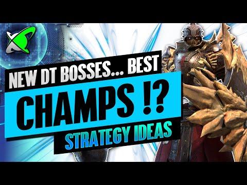 Strategies & Champion Ideas | Iragoth & Grythion | NEW Doom Tower Bosses | RAID: Shadow Legends