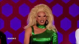 RuPaul's Drag Race Roasts 🔥 Supercut  Season 5 9  All Stars 4  VH1 mp4
