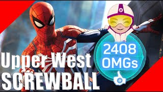 Screwball Turf Wars Stealth Challenge (Upper West Side)- SpiderMan PS4 GamePlay
