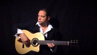 Fragile (by Sting) on Flamenco Guitar performed by Stefan Vale