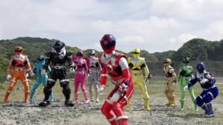 Uchuu Sentai KyuuRanger the Movie: Gase Indaver Strikes Back Trailer 2 (RAW)