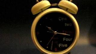 Relógio - Despertador retrô
