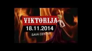 VIKTORIJA UŽIVO, SAVA CENTAR 18. NOVEMBAR 2014 (REKLAMA)