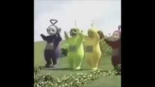 Teletubbies epic dance [Steve Aoki - Boneless]