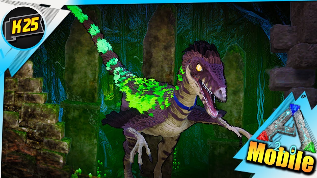 Kamz 25 - Avenue Of Lost Hope Live!| Ooh Noo! Troodons!! | ARK MOBILE Dungeons