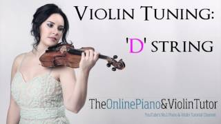 Violin Tuning Note Sound: D STRING