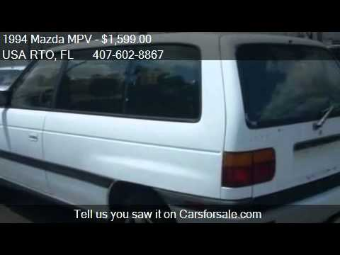 1994 Mazda Mpv Problems Online Manuals And Repair Information