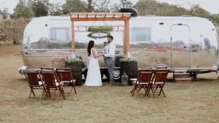 Airstream elopement wedding video ft. A thousand years instrumental