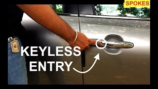 Keyless Entry Explained in 2 minutes || Feat. Maruti Suzuki Baleno