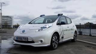Nissan Leaf Autonomous London