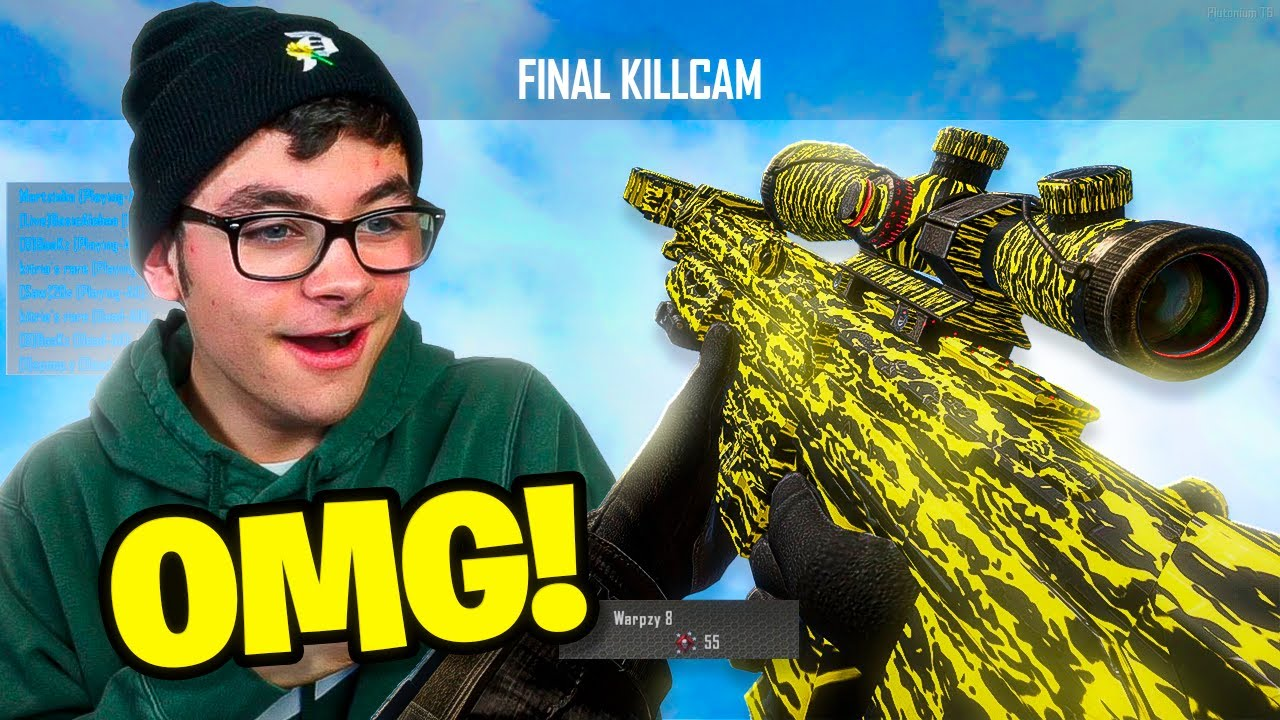 Warpzy - THIS IS MY MOST DISTANT SHOT ON THIS MAP! (BO2 Plutonium Trickshotting w/ 7 SHOTS!)