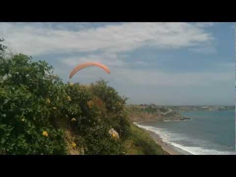 Paragliding @ Puerto Lopez, Ecuador